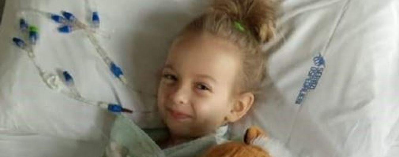 Кіра за свої шість років перенесла 7 операції і потрібно ще кілька