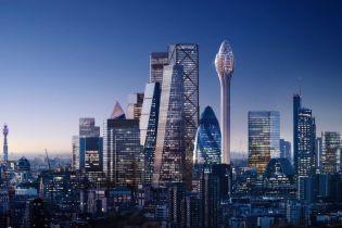 """В Лондоне к 2025 году построят уникальный небоскреб -""""тюльпан"""""""