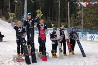 Украинский сноубордист победил на юниорском Чемпионате мира