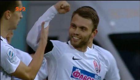 Зоря - Динамо - 1:0. Відео голу Караваєва