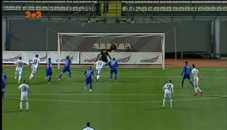 Заря - Динамо - 2:0. Видео гола Белого