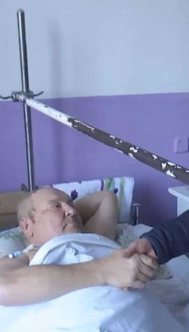 Бывший военный помог скутеристу, что попал в ДТП