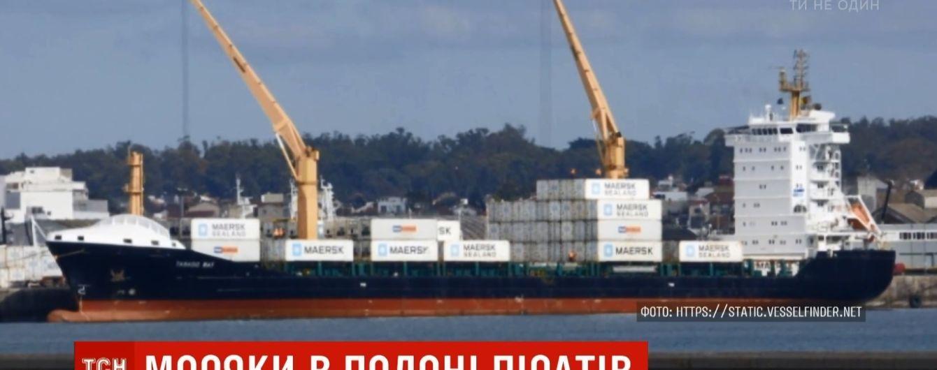 Заручниками піратів у Камеруні стали троє українських моряків