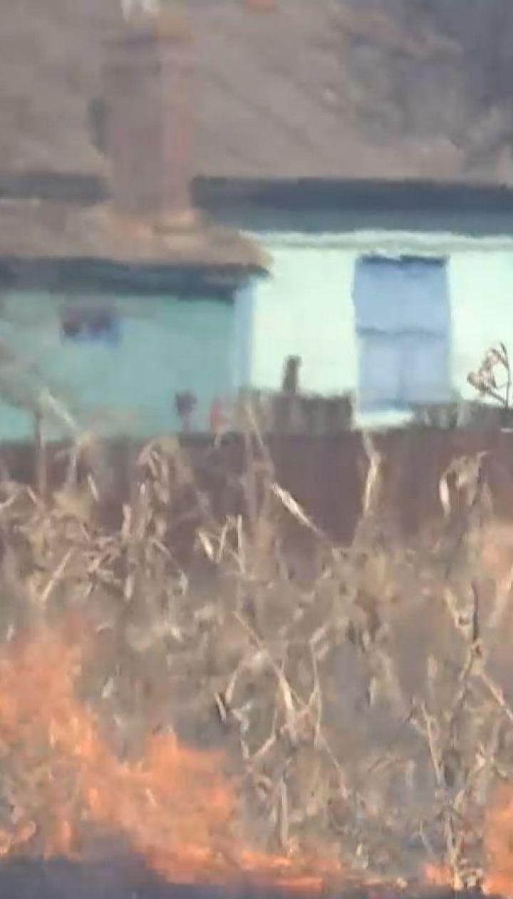 На Чернігівщині чоловік на власному городі згорів живцем, паливши там кукурудзиння