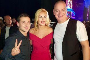 Полякова, Камалія та Квінта привітали Зеленського з перемогою на виборах