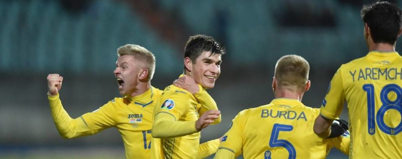 Украина поднялась в рейтинге лучших футбольных команд мира