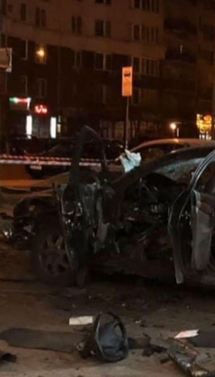 Вибух автівки у Києві міг бути замахом на офіцера українських спецслужб