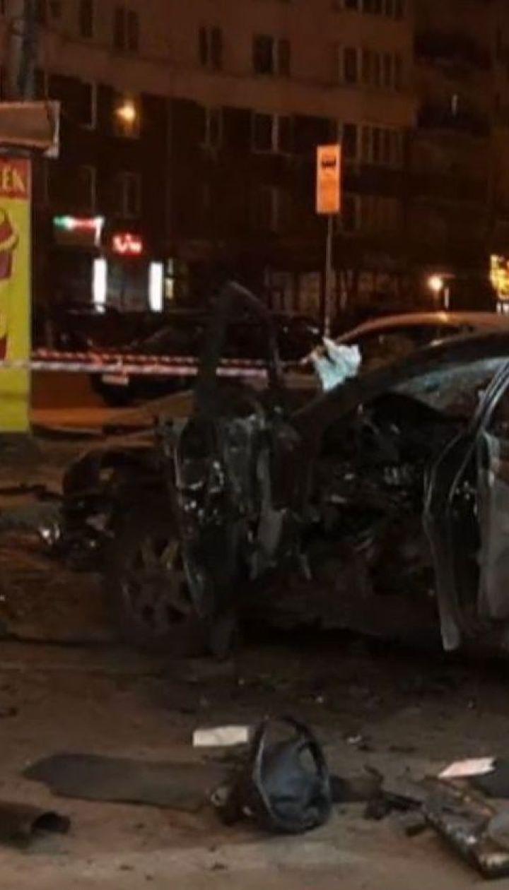 Взрыв авто в Киеве мог быть покушением на офицера украинских спецслужб