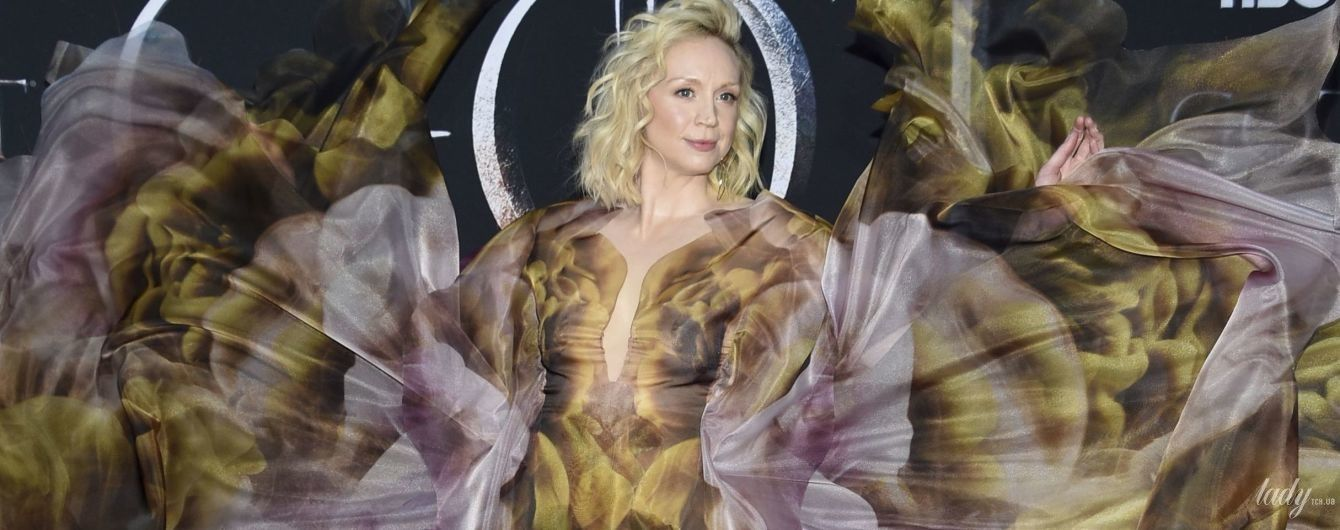 Она прекрасна: Гвендолин Кристи впечатлила платьем из самой модной коллекции сезона