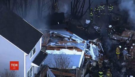 4 дома снесло масштабным взрывом в США