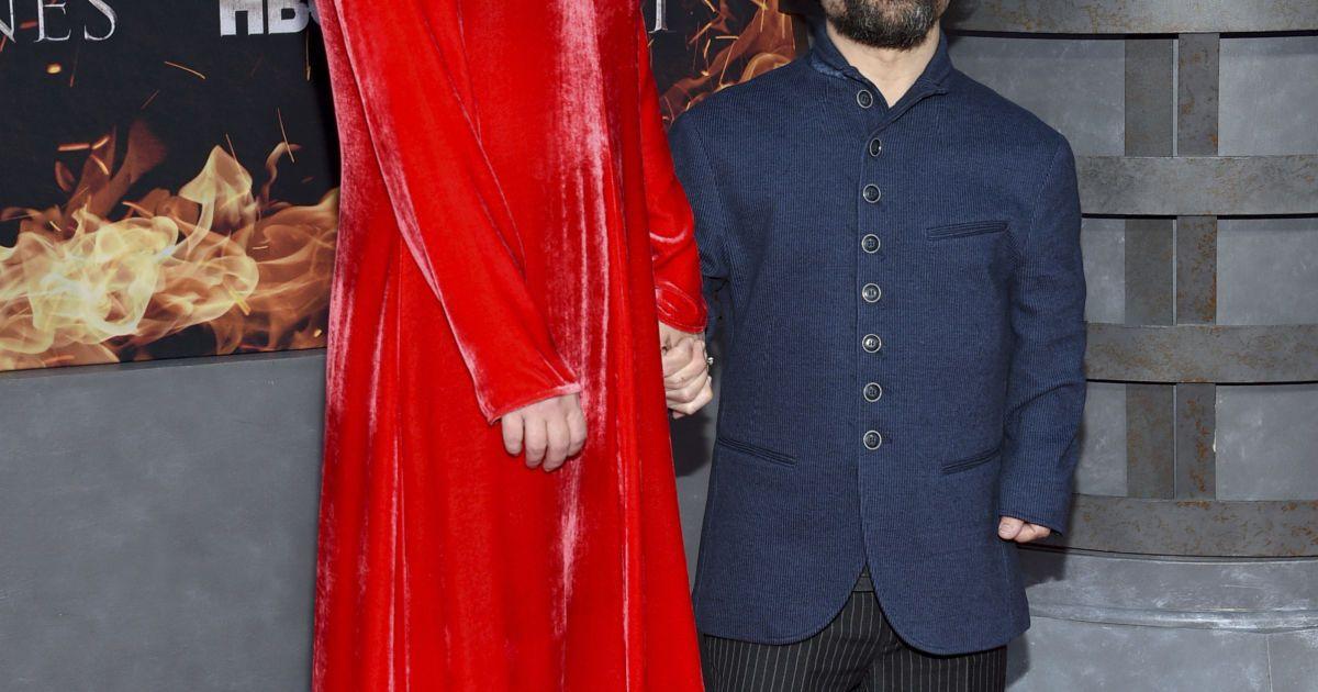 Питер Динклэйдж с женой @ Associated Press
