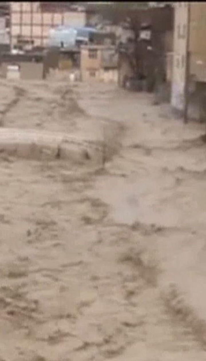 Масштабні повені забрали життя 62 людей в Ірані