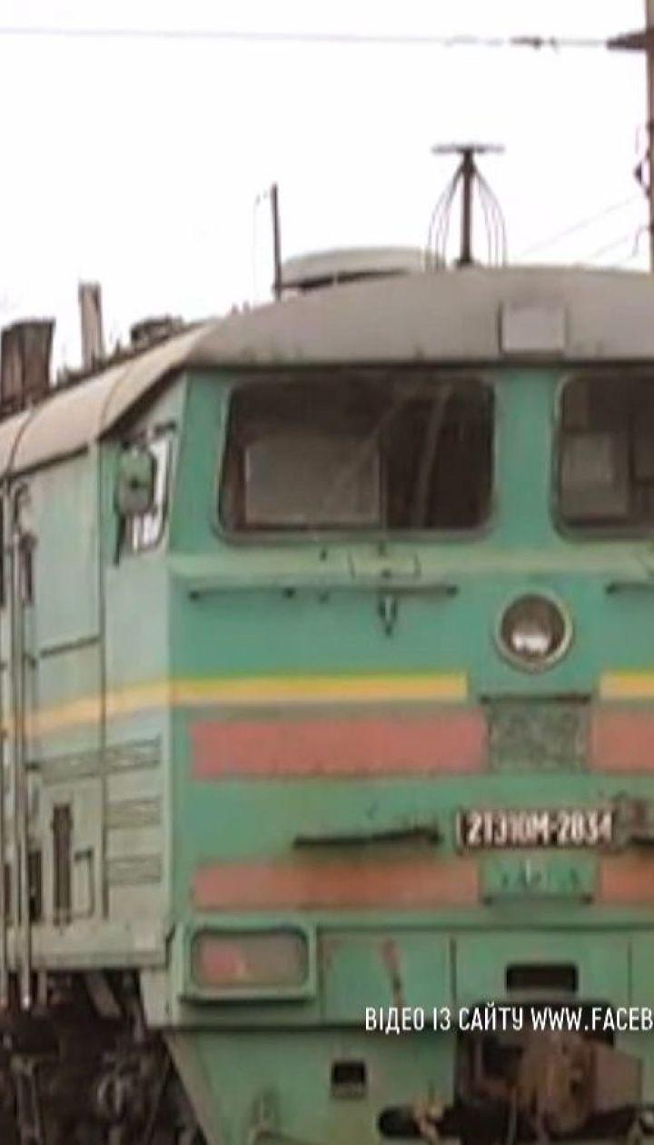 С помощью дрона в Одесской области задержали воров, что сливали топливо с тепловоза