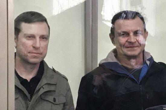 """Російський суд залишив без змін вирок """"українським диверсантам"""" Дудці і Бессарабову. Вони вирок оскаржать"""