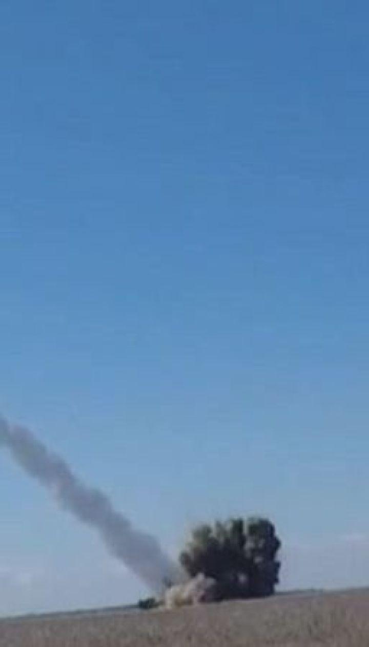 """На полігоні випробували український ракетний комплекс """"Вільха"""", який стріляє на 130 кілометрів"""