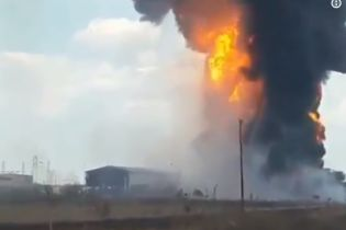 В Венесуэле на нефтепроводе произошел мощный взрыв