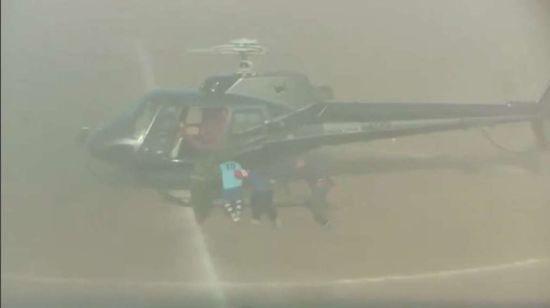Жарт по-сицилійськи. Футболіста викрали на вертольоті просто посеред матчу