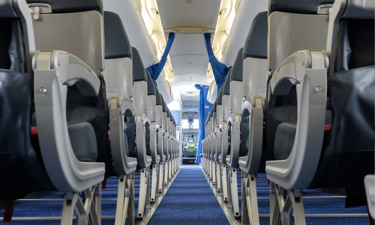 KLM борт самолета