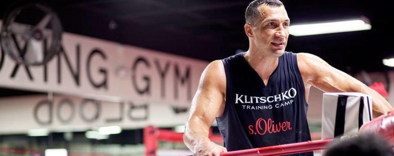 Володимир Кличко готує велику легенду до повернення у бокс