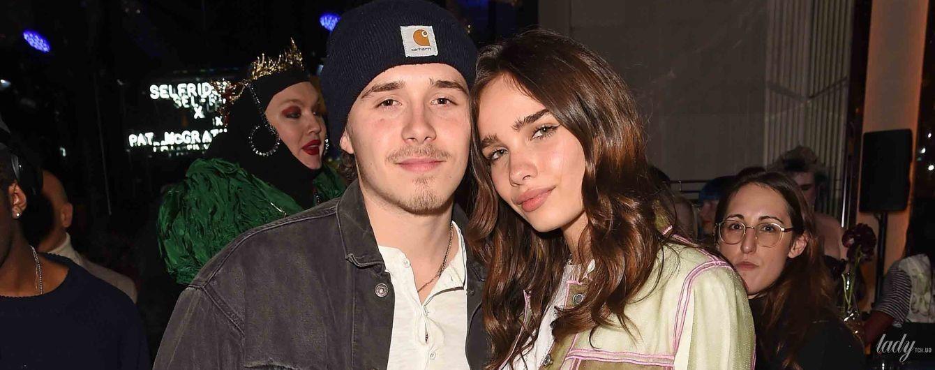 Хана в рваных джинсах, а Бруклин в грязных кедах: влюбленные сходили на вечеринку в Лондоне