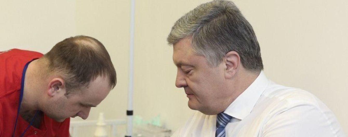 """Порошенко повторно сдаст анализы на НСК """"Олимпийский"""", на этот раз представителям VADA"""