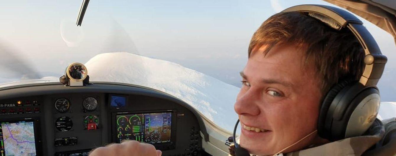 Дмитрий Комаров начал устанавливать рекордный полет