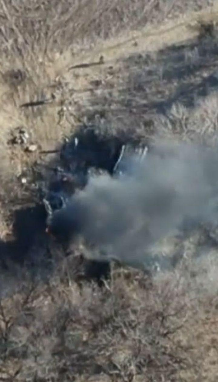 Терористи інтенсивно гатять по українських позиціях із важкої артилерії