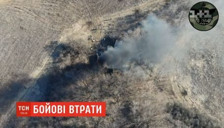Террористы интенсивно обстреливают украинские позиции с тяжелой артиллерии