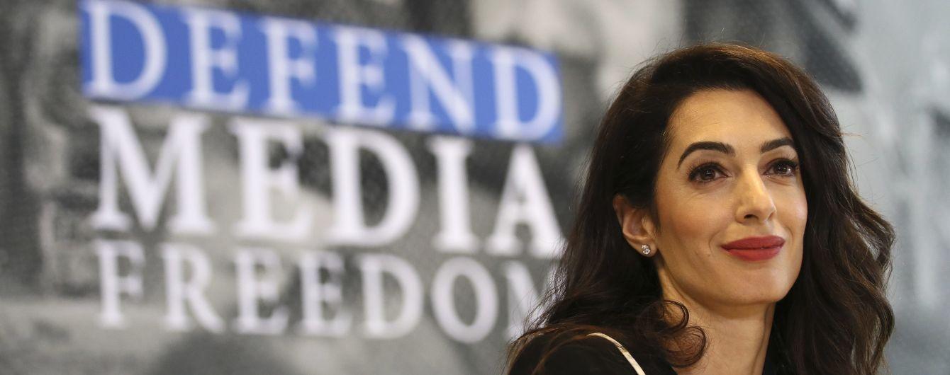 Амаль Клуни официально станет на защиту журналистов