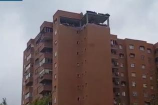 У Мадриді вибух газу зруйнував цілий поверх житлового будинку