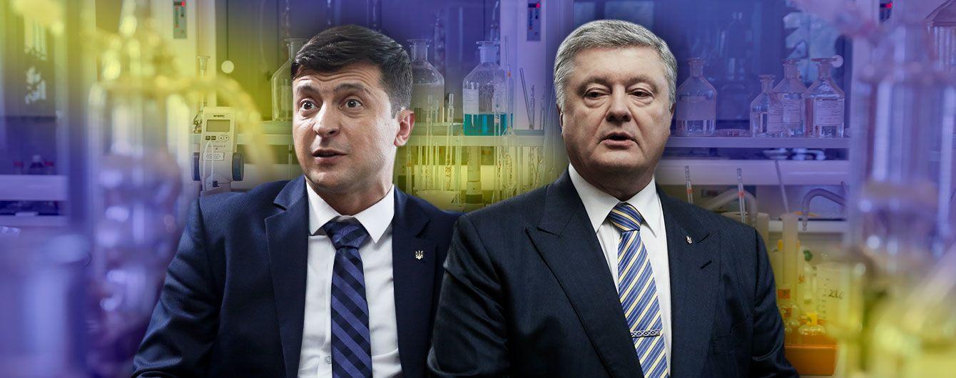 Результаты анализов Порошенко и Зеленского: все об обследовании кандидатов в президенты