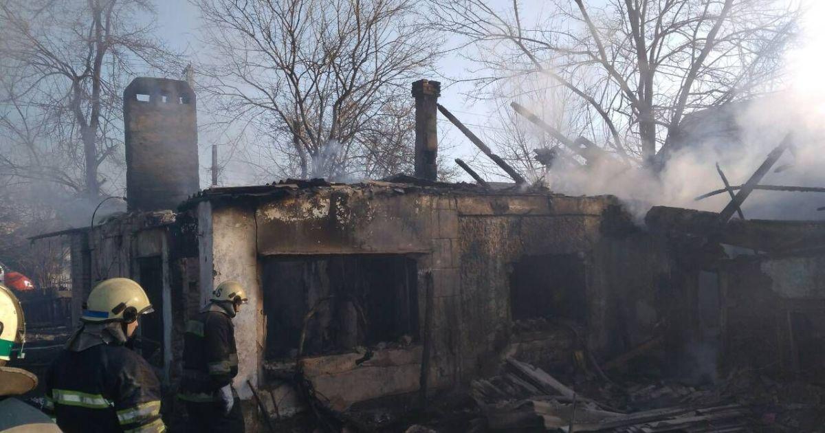 Загинули двоє неповнолітніх дітей та їхній батько @ ДСНС у Дніпропетровській області