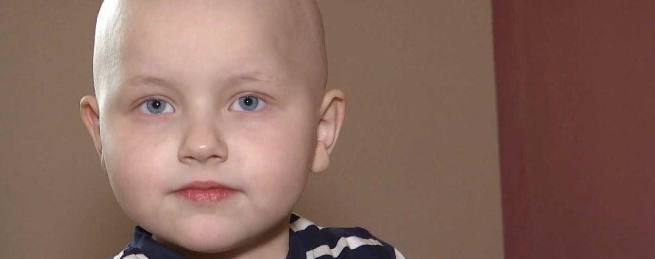 В срочной пересадке костного мозга нуждается 5-летний Андрюша