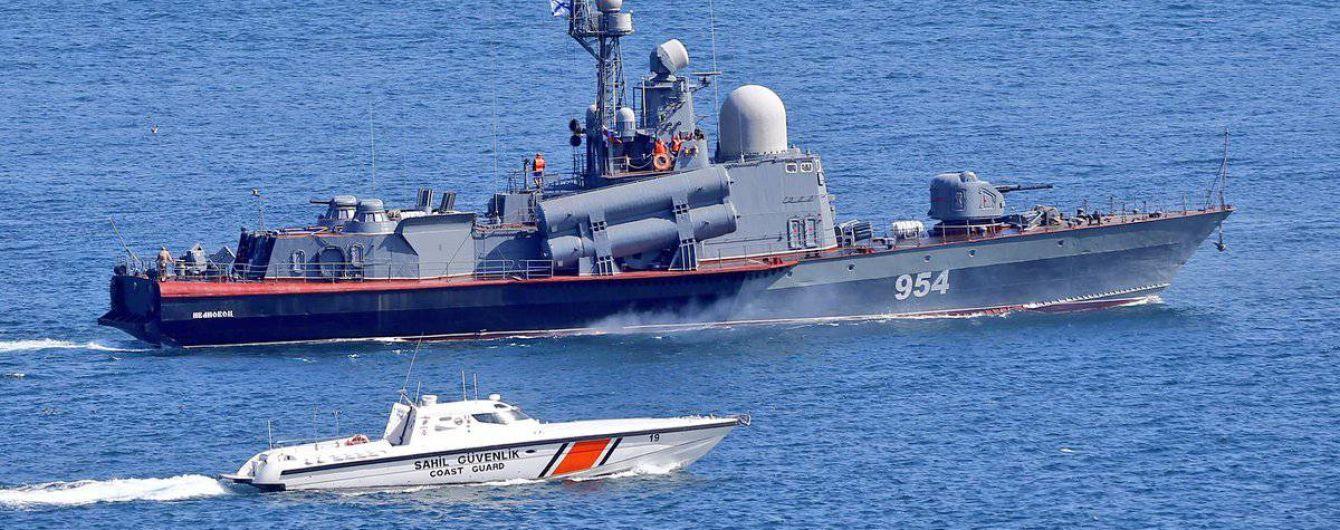Ракетные корабли РФ провели стрельбы в Черном море - СМИ