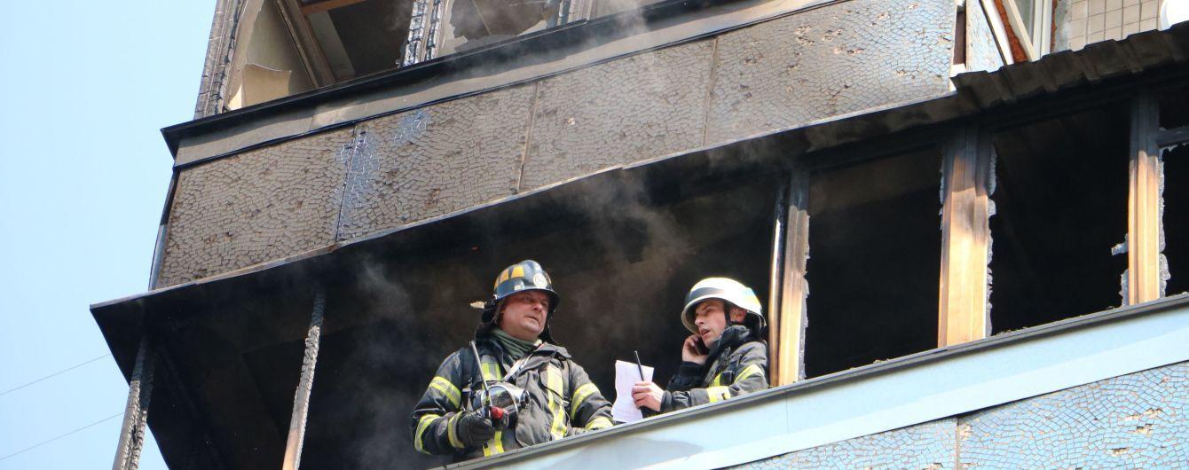 В Киеве мужчина погиб в результате пожара в многоэтажке