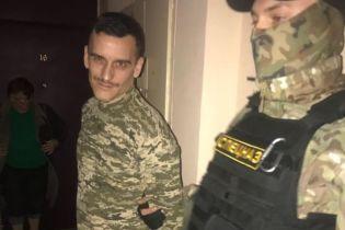 У Києві обшукали чоловіка, який записав відео Зеленському з гранатометом у руках