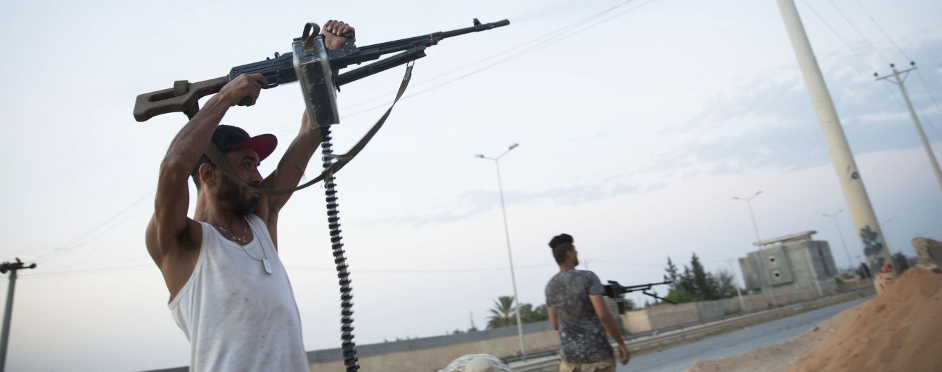 Обострение в Ливии. Во время наступления на столицу погибли десятки людей