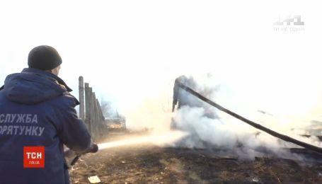 Супруги пожилого возраста сгорели живьем во время паления сухостоя