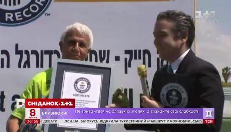 73-летнего жителя Израиля Исаака Хаика признали самым пожилым футболистом мира