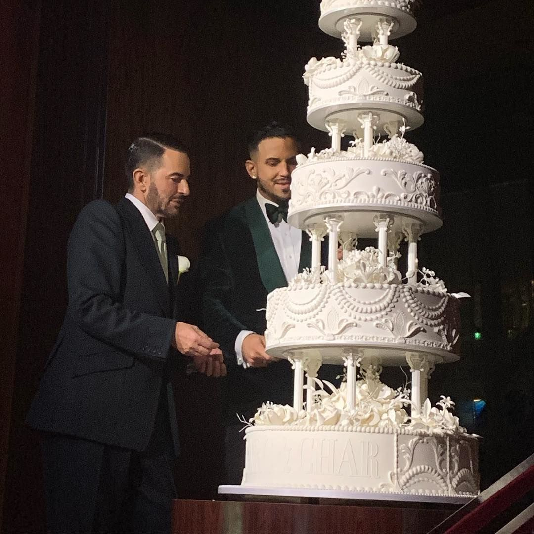 Марк Джейкобс, весілля