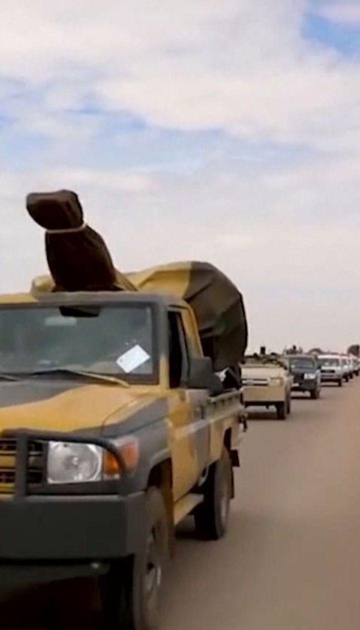 Поблизу столиці Лівії точаться бої між повстанцями та збройними силами