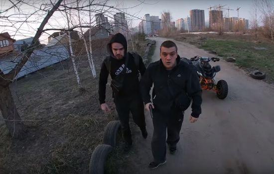 У Києві компанія на чолі з поліцейським напала зі стріляниною на водія квадроцикла - ДБР