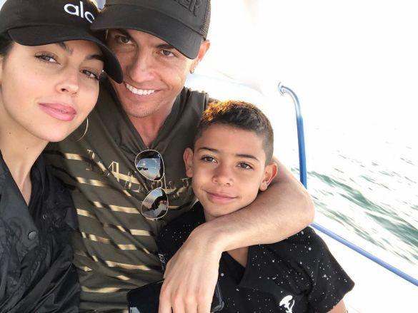 Роналду і Джорджина з сином