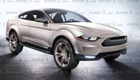 Электрический кроссовер Mustang получит название Mach-E. Официально