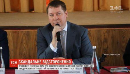 Очільник Одещини вважає, що його хочуть позбутись через результати першого туру виборів