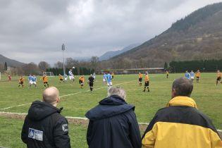 Коли тварини проти спорту. Футбольний матч у Шотландії відклали через оленячий послід на полі