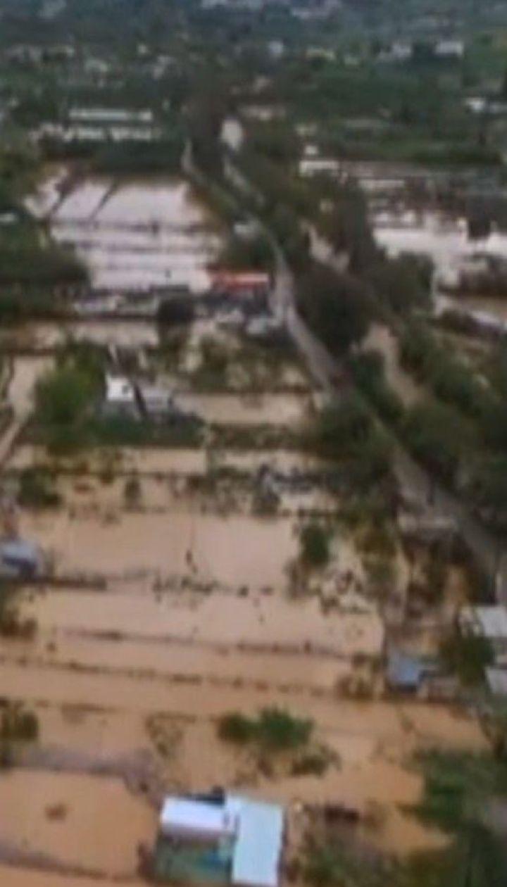 Остров Крит третий раз в этом году накрыло наводнение
