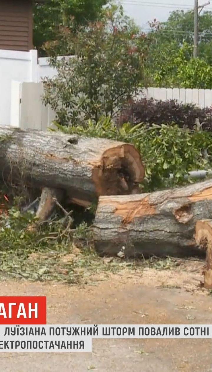 Американским штатом Луизиана прошелся мощный ураган
