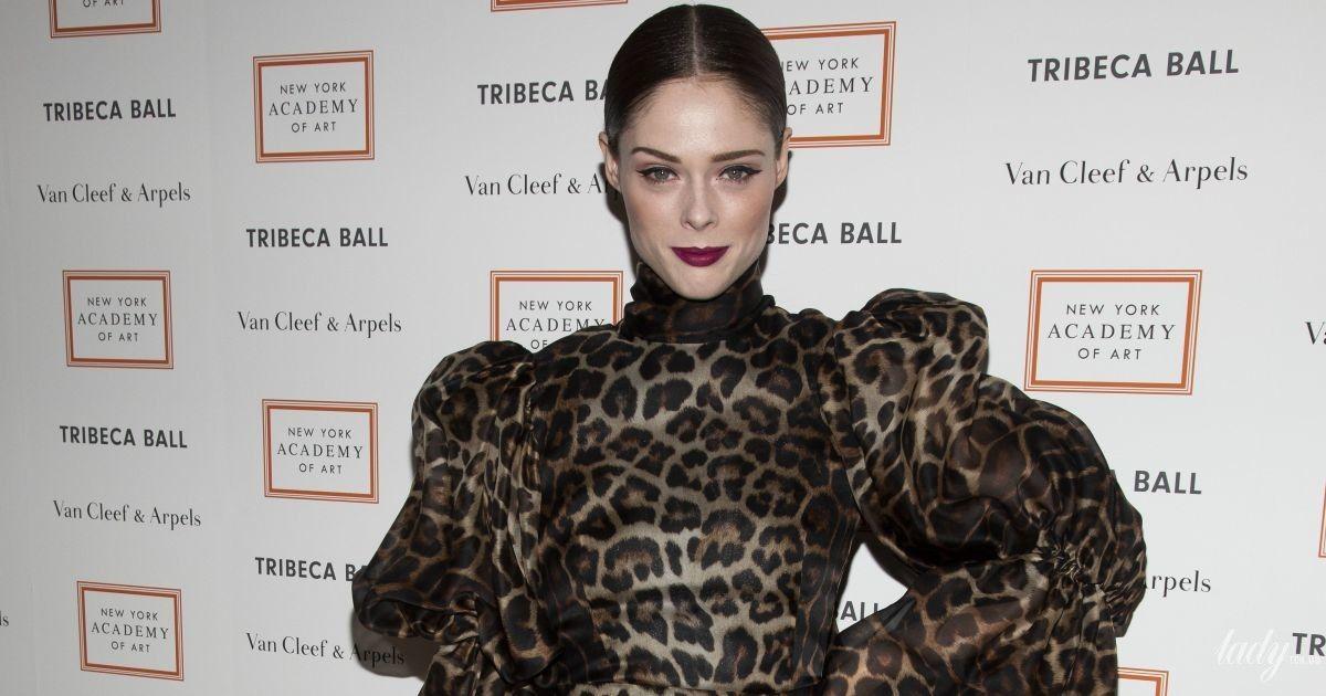 В леопардовому міні: Коко Роша стала зірковою гостею Tribeca Ball в Нью-Йорку