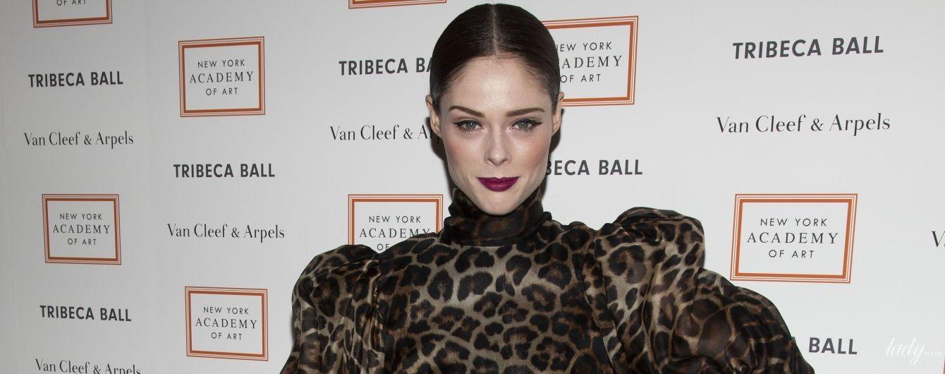 В леопардовом мини: Коко Роша стала звездной гостьей Tribeca Ball в Нью-Йорке
